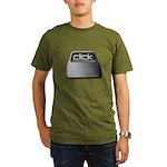 Click Computer Geek Organic Men's T-Shirt (dark)
