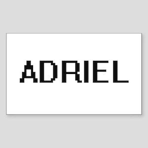 Adriel Digital Name Design Sticker