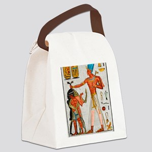 Ramesses Smiting Enemies Canvas Lunch Bag