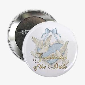 Wedding Doves - Grandmother of Bride Button