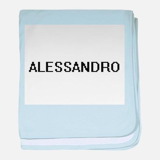 Alessandro Digital Name Design baby blanket