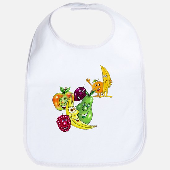 Healthy Happy Fruit Bib