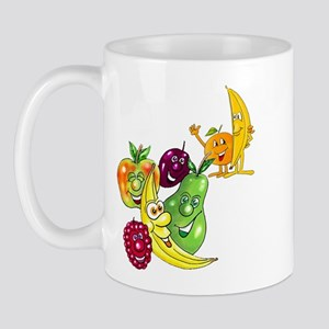 Healthy Happy Fruit Mug