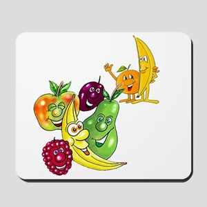 Healthy Happy Fruit Mousepad