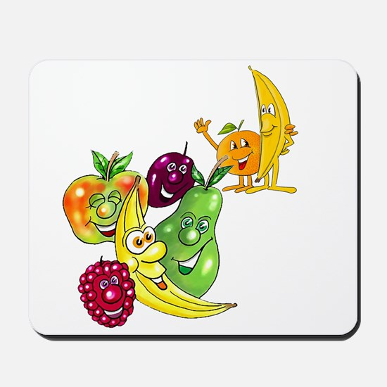 Healthy Happy Fruit Mousepad