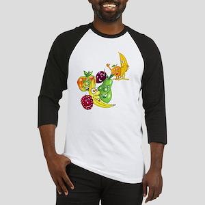 Healthy Happy Fruit Baseball Jersey
