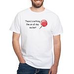 All day sucker White T-Shirt
