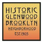"Glenwood-Brooklyn 3 "" Square Car Magnet 3&quo"