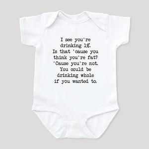 Drinking 1% (blk) - Napoleon Infant Bodysuit