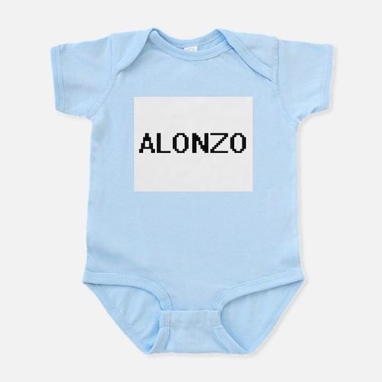 Alonzo Digital Name Design Body Suit