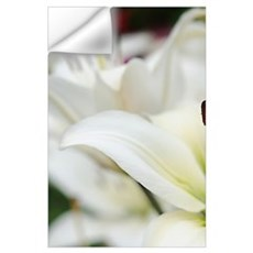 White Lilies Wall Decal