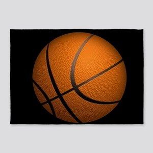 Basketball Big Wide 5'x7'Area Rug