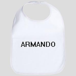 Armando Digital Name Design Bib