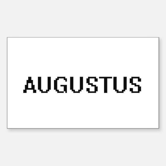 Augustus Digital Name Design Decal