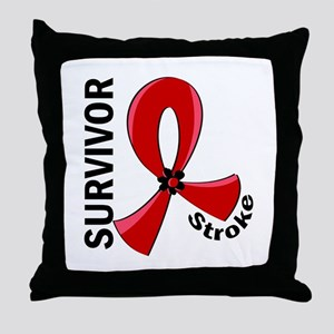 Stroke Awareness V12 Throw Pillow