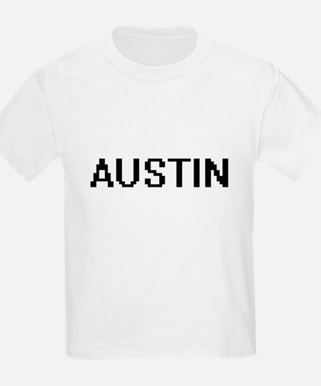 Austin Digital Name Design T-Shirt