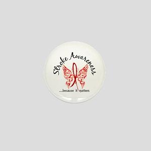 Stroke Butterfly 6.1 Mini Button