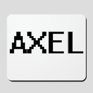 Axel Digital Name Design Mousepad