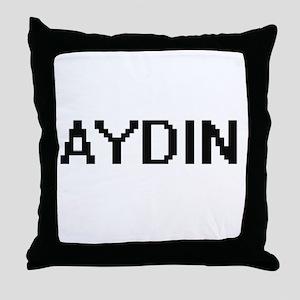 Aydin Digital Name Design Throw Pillow