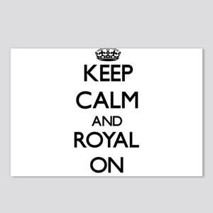 Keep Calm and Royal ON Postcards (Package of 8)