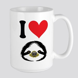 I HEART SLOTH Mugs