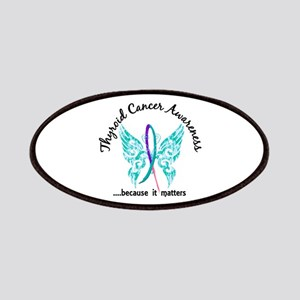 Thyroid Cancer Butterfly 6.1 Patch