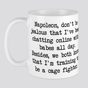 Don't Be Jealous (blk) - Napoleon Mug