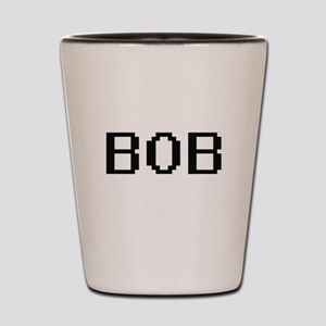 Bob Digital Name Design Shot Glass