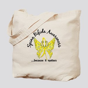 Spina Bifida Butterfly 6.1 Tote Bag