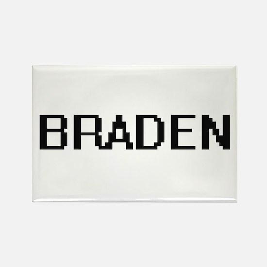 Braden Digital Name Design Magnets
