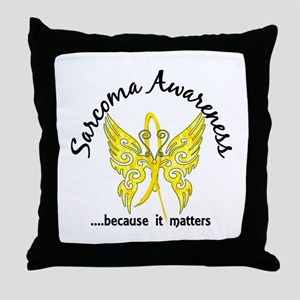 Sarcoma Butterfly 6.1 Throw Pillow