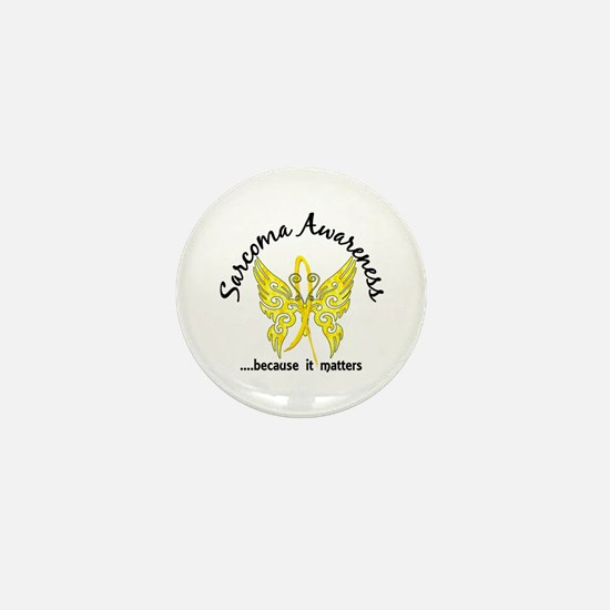 Sarcoma Butterfly 6.1 Mini Button