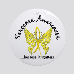 Sarcoma Butterfly 6.1 Ornament (Round)