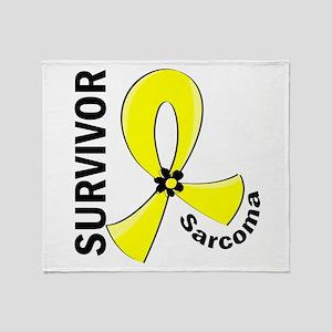 Sarcoma Survivor 12 Throw Blanket