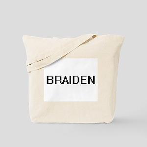 Braiden Digital Name Design Tote Bag