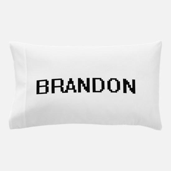 Brandon Digital Name Design Pillow Case