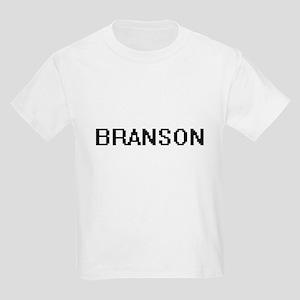 Branson Digital Name Design T-Shirt
