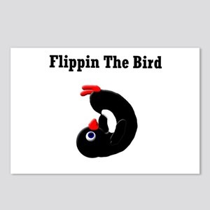 Flippin the Bird Postcards (Package of 8)
