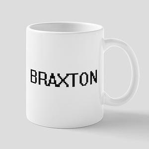 Braxton Digital Name Design Mugs