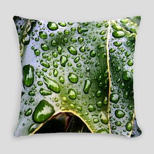 Wet Leaf Everyday Pillow
