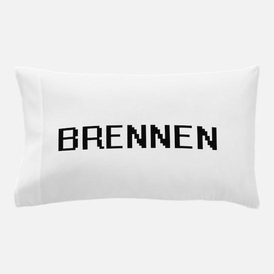Brennen Digital Name Design Pillow Case