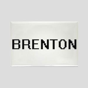 Brenton Digital Name Design Magnets