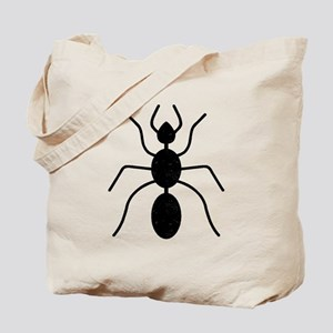 Distressed Ant Silhouette Tote Bag