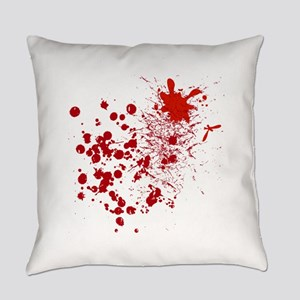 So Much Blood Everyday Pillow