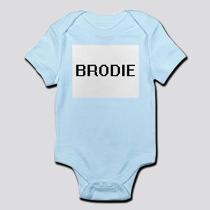 Brodie Digital Name Design Body Suit