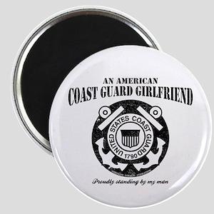 American Coastie Girlfriend Magnet