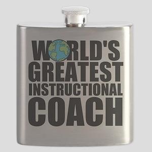 World's Greatest Instructional Coach Flask