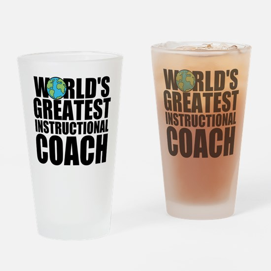 World's Greatest Instructional Coach Drinking