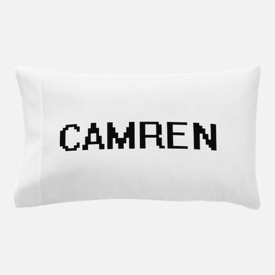 Camren Digital Name Design Pillow Case