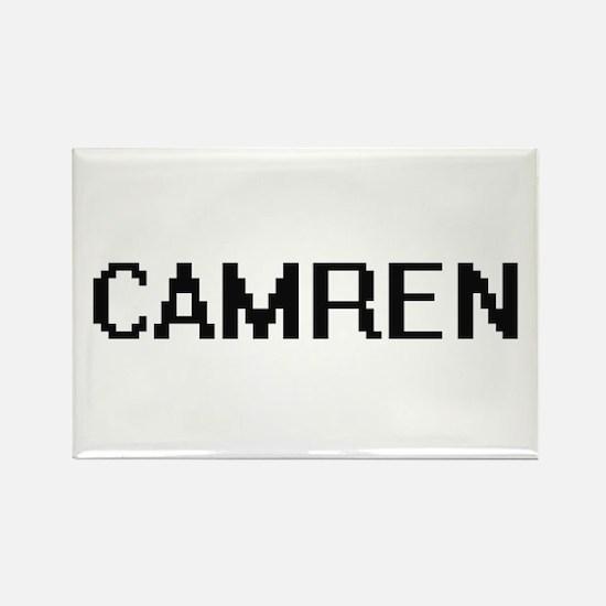 Camren Digital Name Design Magnets